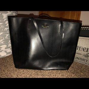 Kate Spade ♠️ Large Black Tote handbag